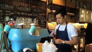DishWasherからBaristaに成り上がったカフェ( Brother Thomas )で働いていた時の写真